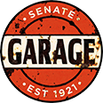Senate Garage Logo